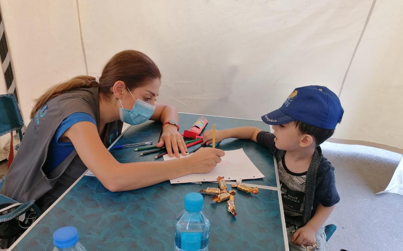 Hints For Healing Podcast 13: Supporting Refugee Children Survivors Of The Beirut Blast: Reflections From Trauma Specialists In Lebanon
