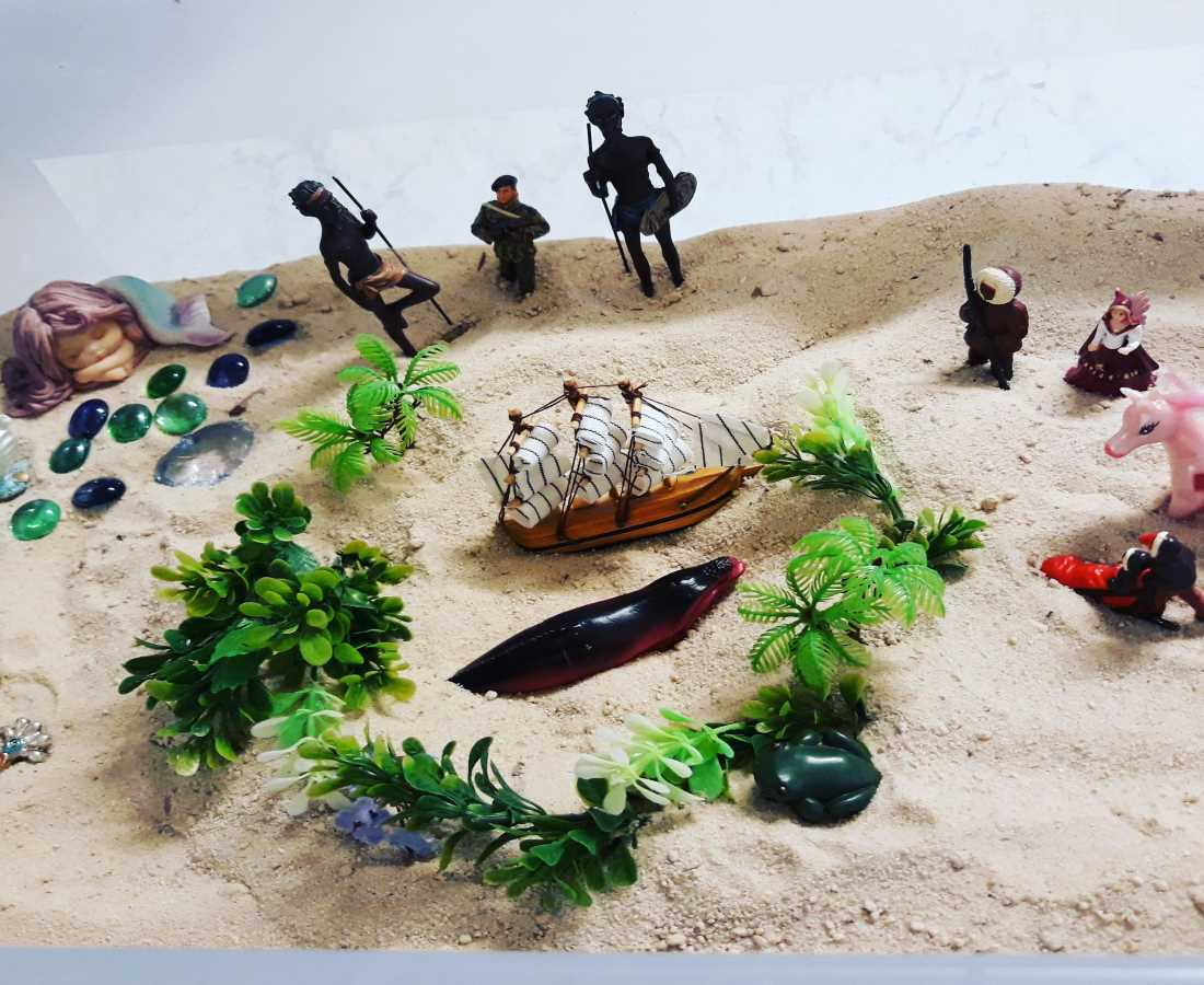 Hints For Healing Podcast 3: Sandplay – Expressing And Understanding Through Sand And Miniatures